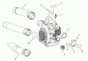 Homelite Leaf Blower Parts Diagram