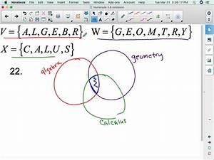 Draw A Venn Diagram To Represent The Union And In U2026
