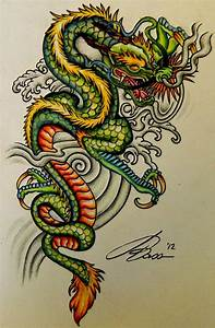Asian style dragon | Dragons & Clouds | Pinterest ...