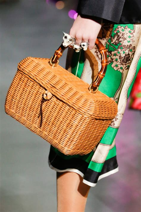 gucci fallwinter  runway bag collection spotted fashion