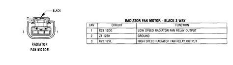 2001 Pt Cruiser Wiring Harnes by Radiator Fan Wiring Harness Pt Cruiser Forum