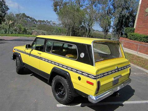 chief jeep color 1977 jeep cherokee chief for sale classiccars com cc