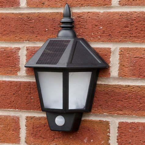 solar welcome wall light with pir