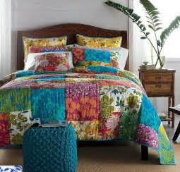 free shipping new arrival colorful patchwork quilt handmade bedding set king size us 148 00