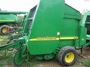 2002 John Deere 567 Hay Equipment - Round Balers
