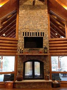 Double, Sided, Indoor, Outdoor, Fireplace, Design, Ideas