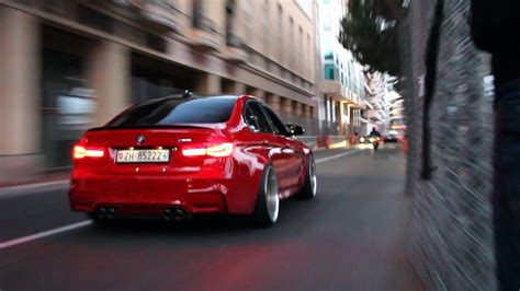bmw    loud catless exhaust system youtube