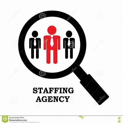 Agency Recruitment Employment Clipart Employee Glass Icon