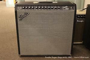 1997 Fender Super Amp 4x10