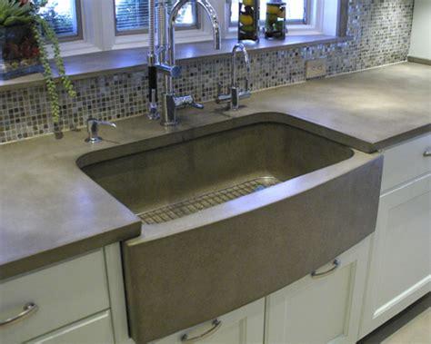 concrete kitchen sink kitchen sink options vindak 2431