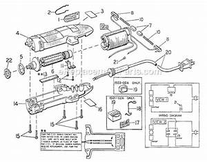 Oster Pro Clipmaster Parts List And Diagram