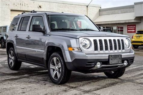 jeep patriot 2017 high altitude 2017 jeep patriot new car high altitude 4x4 sunroof