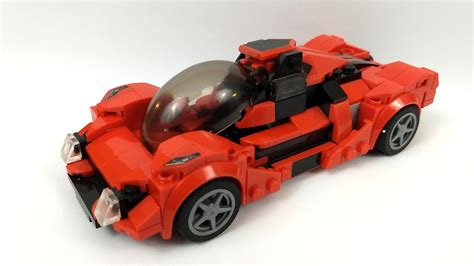 The most realistic ferrari ever lego speed champions cars are now 25% bigger than ever before, meaning even more authentic details. LEGO MOC Concept Sports Car: Speed Champions Ferrari F8 Tributo Rebuild by Plutonian1 ...