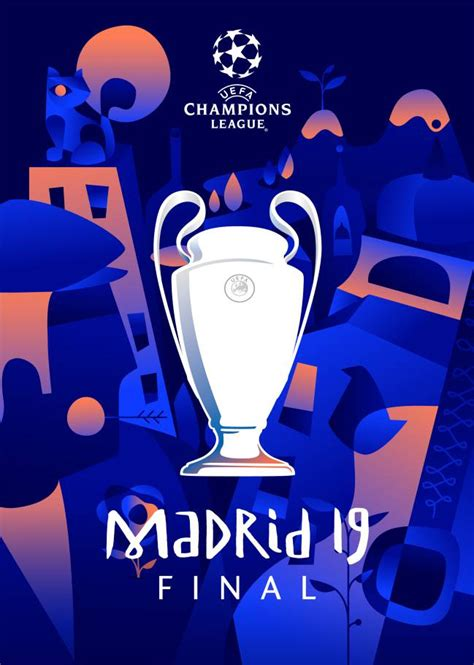 This concept was made by turkish. Uefa unveil Madrid final Champions League poster - AS.com