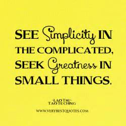 Quotes About Small Things
