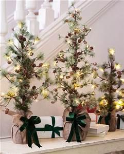 beautiful tabletop trees decorating ideas