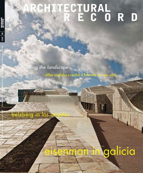 Architectural Record June 2011