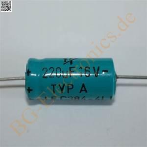 Schaltkreise Berechnen : 5 x 220 f 220uf 16v 105 c elko kondensator capacitor axial ~ Themetempest.com Abrechnung