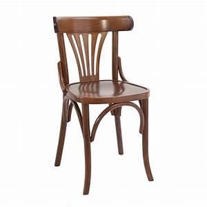 Chaise Bistrot Bois : chaise bristrot en bois ~ Teatrodelosmanantiales.com Idées de Décoration