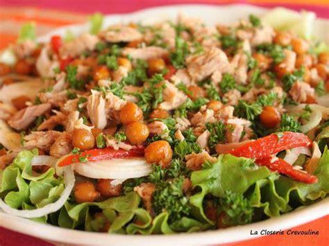 cuisine soulef recettes de salade composée et thon