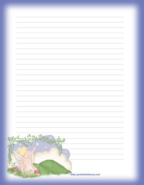 letter writing paper 9 best images of free printable lined letter paper free 68213