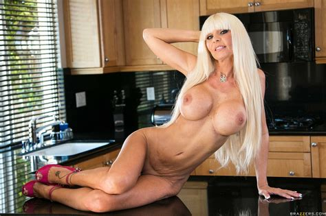 Mature Blonde Likes Sex In The Kitchen Photos Kasey Storm Milf Fox