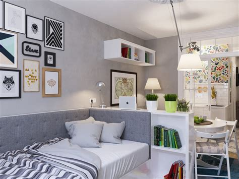 Two Small Apartments A Blue Oasis Of Minimalist Living by 15 Minimalist Apartments For Living Simple
