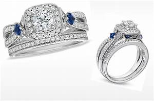 vera wang love engagement ring diamond and sapphire With vera wang wedding rings