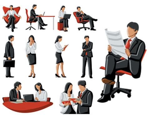 vector business people illustration ai svg eps