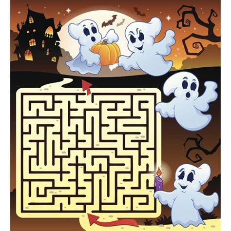 jeux de maison hantee labyrinthe de la maison hant 233 e 224 imprimer magicmaman