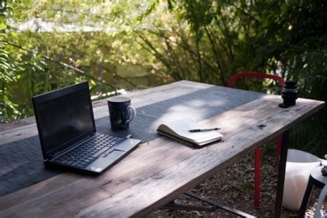 How To Make A Patio Table by 6 Ideas For An Outdoor Office Flexjobs