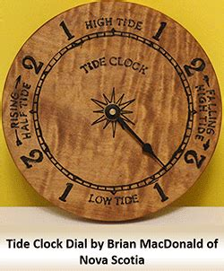 tide clock movements  weather instruments bear woods
