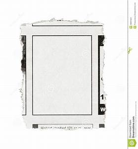 Blank Advertisement From Newspaper Stock Images - Image ...