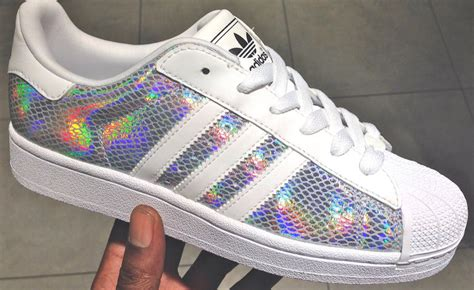 Adidas Superstar Iridescent Hologram Aq6278