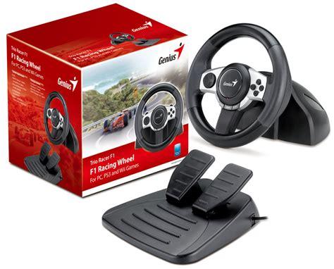volante f1 pc genius volant trioracer f1 pro pc ps3 wii 31620030100