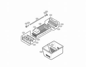 Freezer Parts Diagram  U0026 Parts List For Model 79579753904