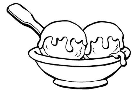 plats cuisines coloriage coupe de glace
