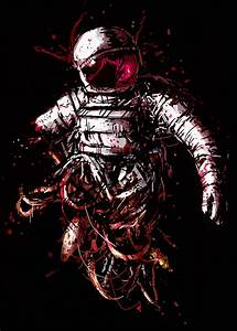 Astronauts Floating In Space Drawing | www.imgkid.com ...