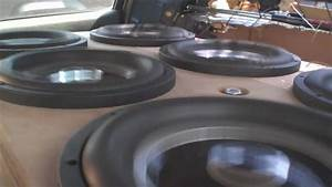 Slow Motion Subwoofer Excursion W   Derek U0026 39 S Extreme Bass