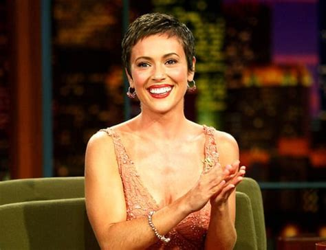 Alyssa Milano Gets Pixie Haircut for 43rd Birthday   Us Weekly