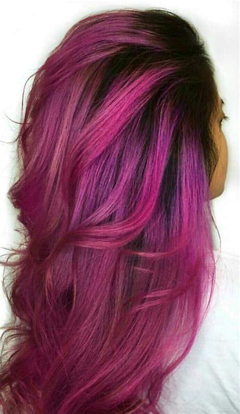 fuschia hair color best 25 fuschia hair ideas on violet hair