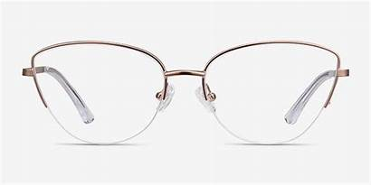Glasses Rose Eye Frame Eyebuydirect Cat Eyeglasses