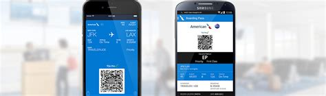 how to get boarding pass on phone mobile boarding pass mobile and app american airlines