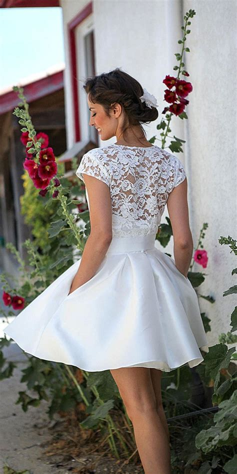 prettiest rehearsal dinner short wedding dresses page