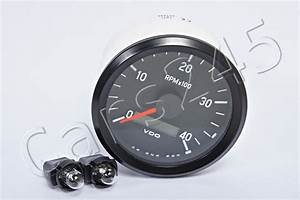 Vdo Tachometer Gauge 3 U0026quot  12  24v 4000rpm 333