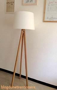 Lampe Sur Pied Scandinave : diy lampe scandinave ~ Teatrodelosmanantiales.com Idées de Décoration