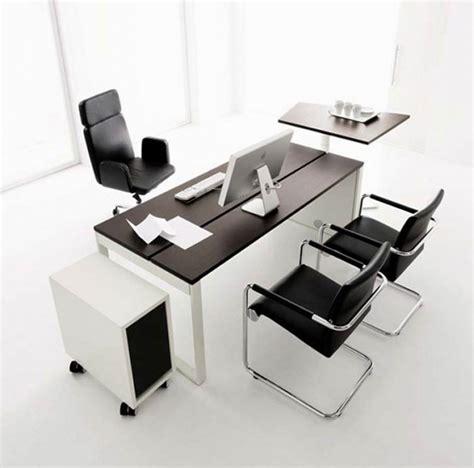 black office desk furniture interiordecodir