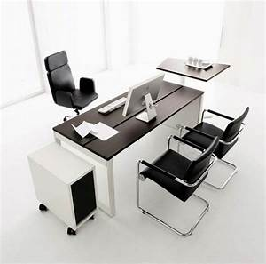 Modern office furniture for home interiordecodircom for Contemporary office table