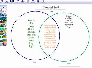 Using Inspiration Software To Create Venn Diagrams
