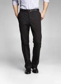 Men's Black Dress Pants